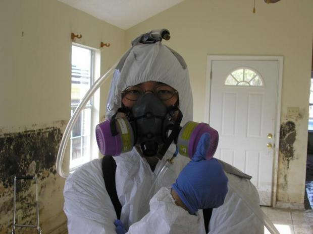 Truth About Mold - moldy room