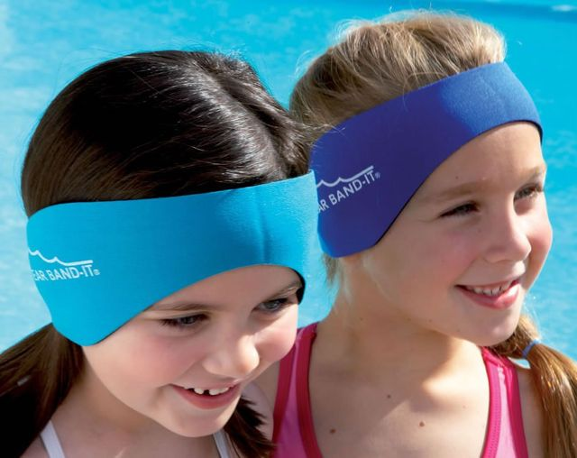 The original swimming headband ear band it invented by ent doctor for What causes ear infections from swimming pools