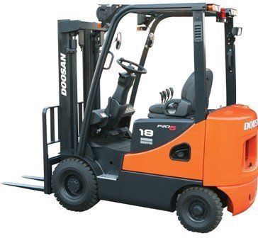 A small forklift