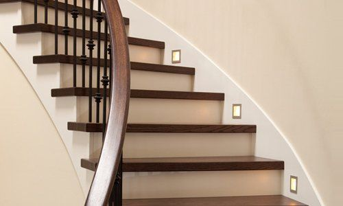 Stair lights and installation