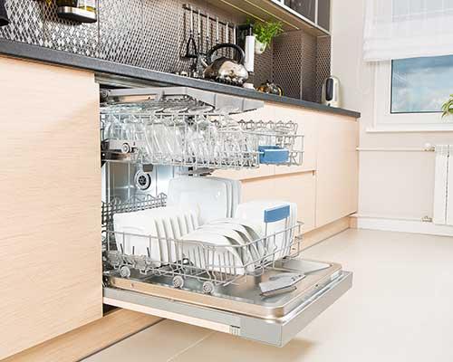 una lavastoviglie
