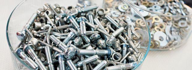 Rack zinc plating, South Wales Metal Finishing