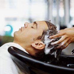 men's hair wash