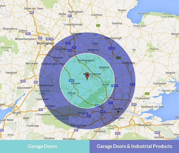 GT Automation's coverage area in the UK