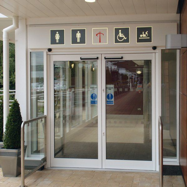 Commercial automatic doors for businesses from GT Automation