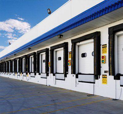 State-of-the-art industrial garage doors