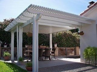 Lattice Patio Covers Provide A Comfortable Environment While Moderating The  Seasons Temperatures.