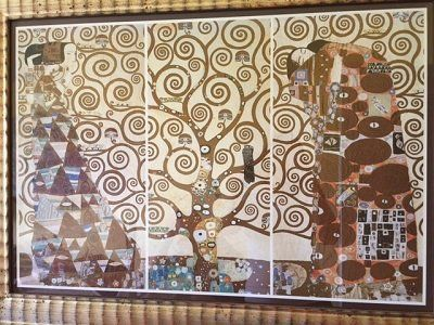 quadro raffigurante dipinto di Klimt