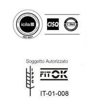 Imballaggi autorizzati e brevettati