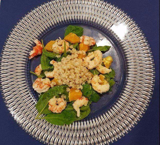 un piatto di risotto allo zafferano