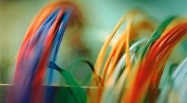 fili elettrici colorati