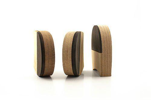 Tacchi in masonite di legno a Morrovalle