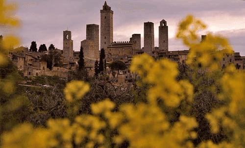 Panorama di San Giminiano