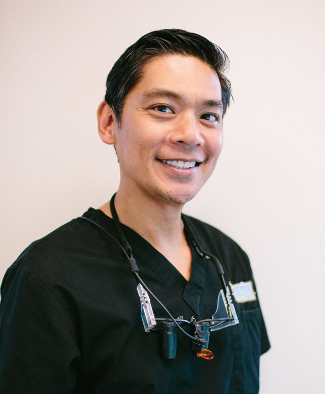 Dr.Jeffrey at the pediactric dentistry practice in Kailua, HI