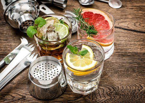 Vasta scelta di cocktail