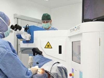 terapia laser cataratta