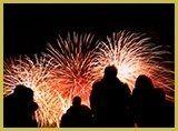 fuochi artificio acquatici
