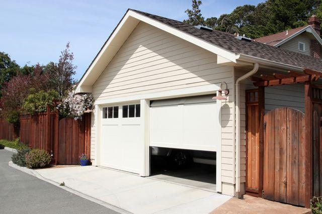 Beau A Garage Door Opening
