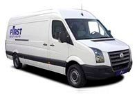 extra long wheel base van hire First Self Drive