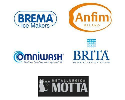 loghi di importanti aziende nel settore