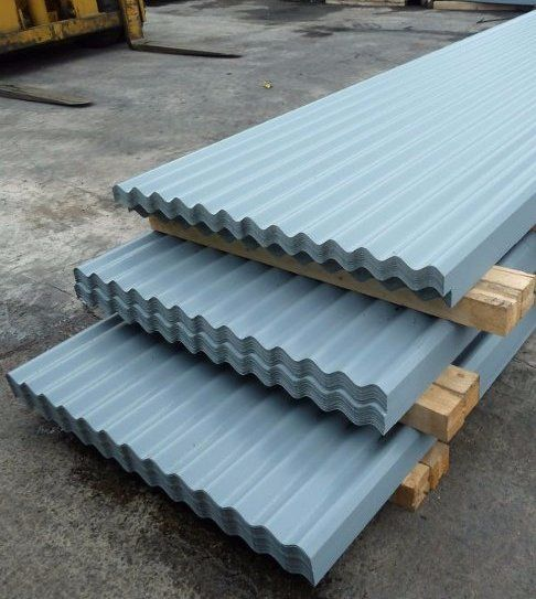 Corrugated Iron Sheeting And Scaffolding Materials In London