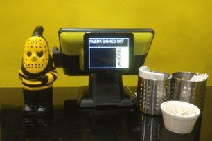 Touchscreen EPOS equipment