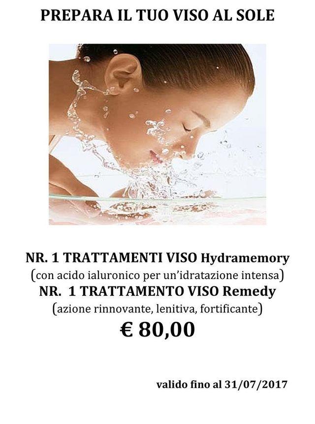 """promozione del trattamento Viso """"Riequilibrante """" Euro 40"""