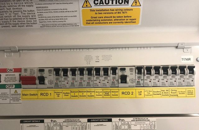 Replacing your fuse box / consumer unit on