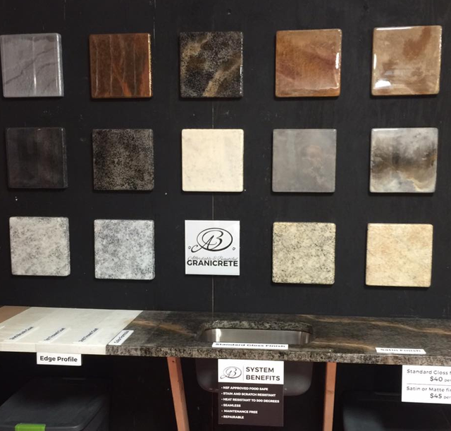 Granite Countertops And Samples