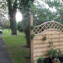 Garden for residents