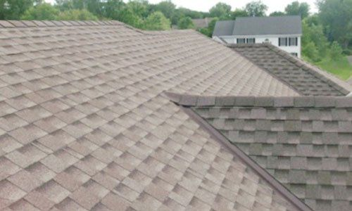 Roof shingles in Burnsville