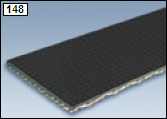 Solid Woven PVC Belting