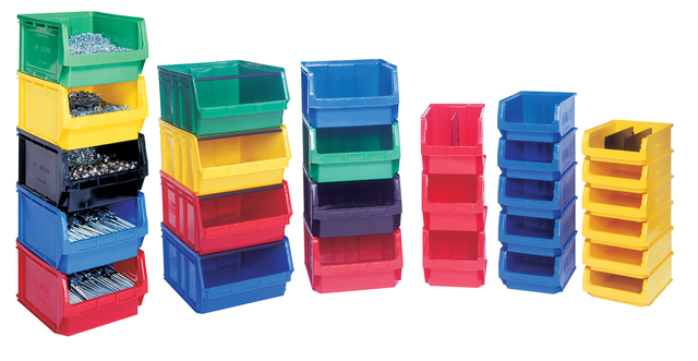 Bins and Bin Storage Systems