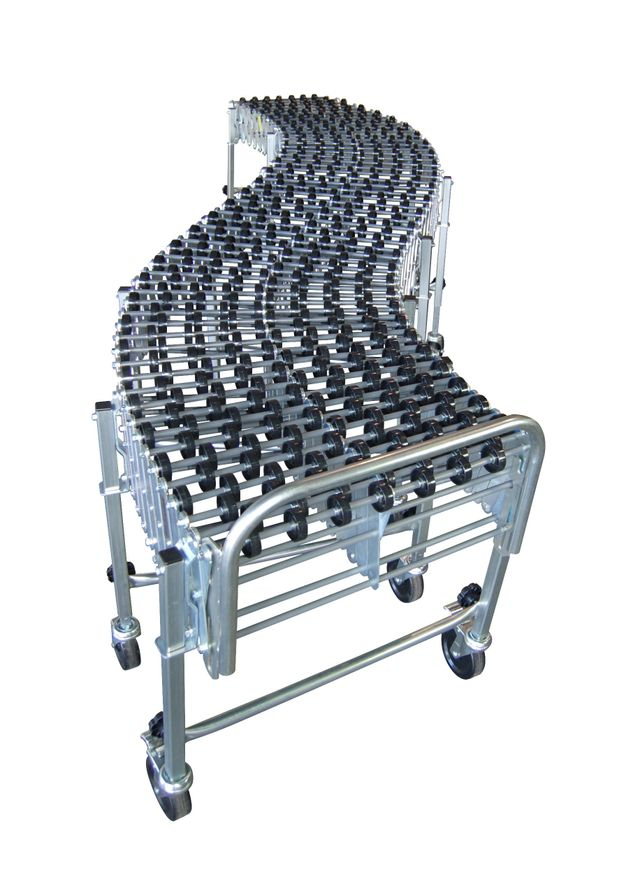 Flexible Conveyors, PVC, Steel, and Aluminum Conveyor Rollers