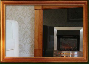 Bespoke timber fireplace surrounds crafted by B and P Joinery in Worcester