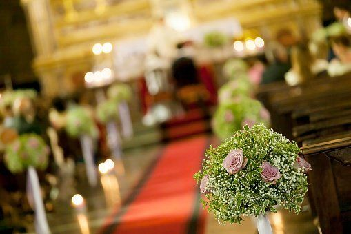 Addobbi floreali per chiese