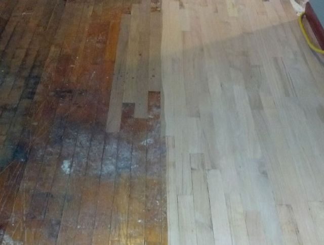 sanding wood floors cleveland oh