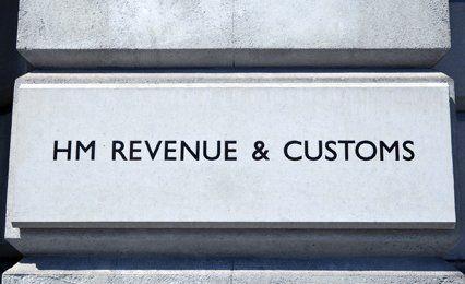 H M Revenue & Customs exterior sign
