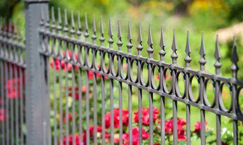 durable metal fences