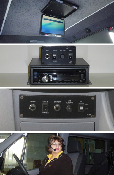 Bus and coach electronics installed in New Zealand