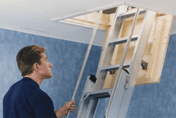 Loft insulation - Croydon, London - Above The Rest Loft Ladders - Loft ladder