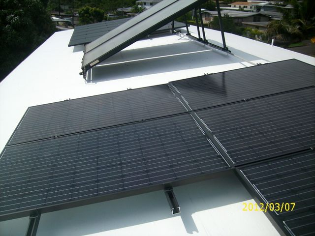 Hydrostop 20 Year Roof System With PV Solar And Water Panels