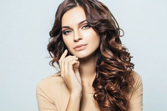 Beautiful permanent hair waves in san diego hair salon girl with curls stylists in encinitas ca solutioingenieria Image collections