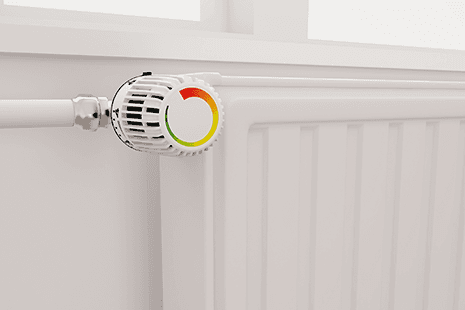A radiator thermostat