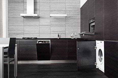 A stylish and contemporary kitchen