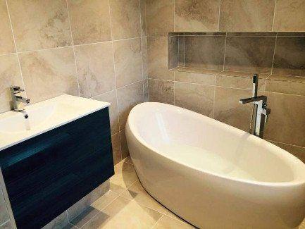 bath tub installations
