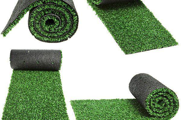 Rotoli di erba artificiale