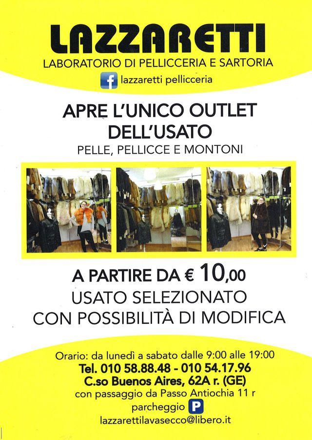 half off 2c44d 8a594 Pellicceria - Genova - Lazzaretti