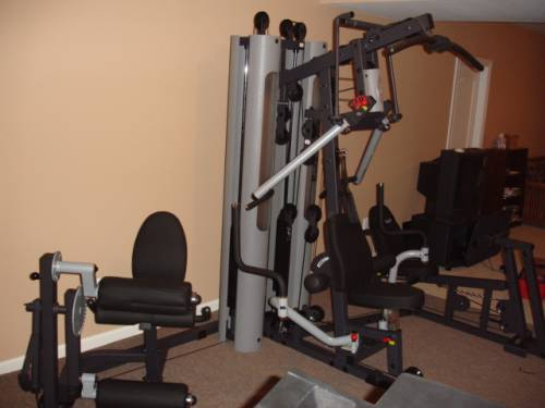 Delivery installation of an inspire ft functional trainer in