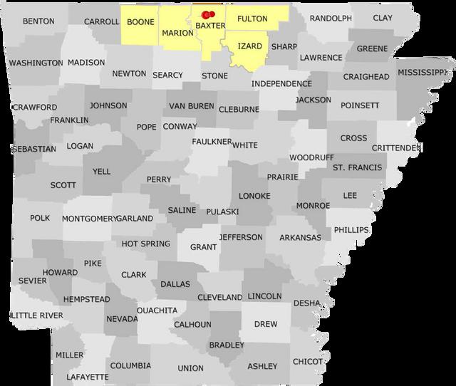 Arkansas Service Territories
